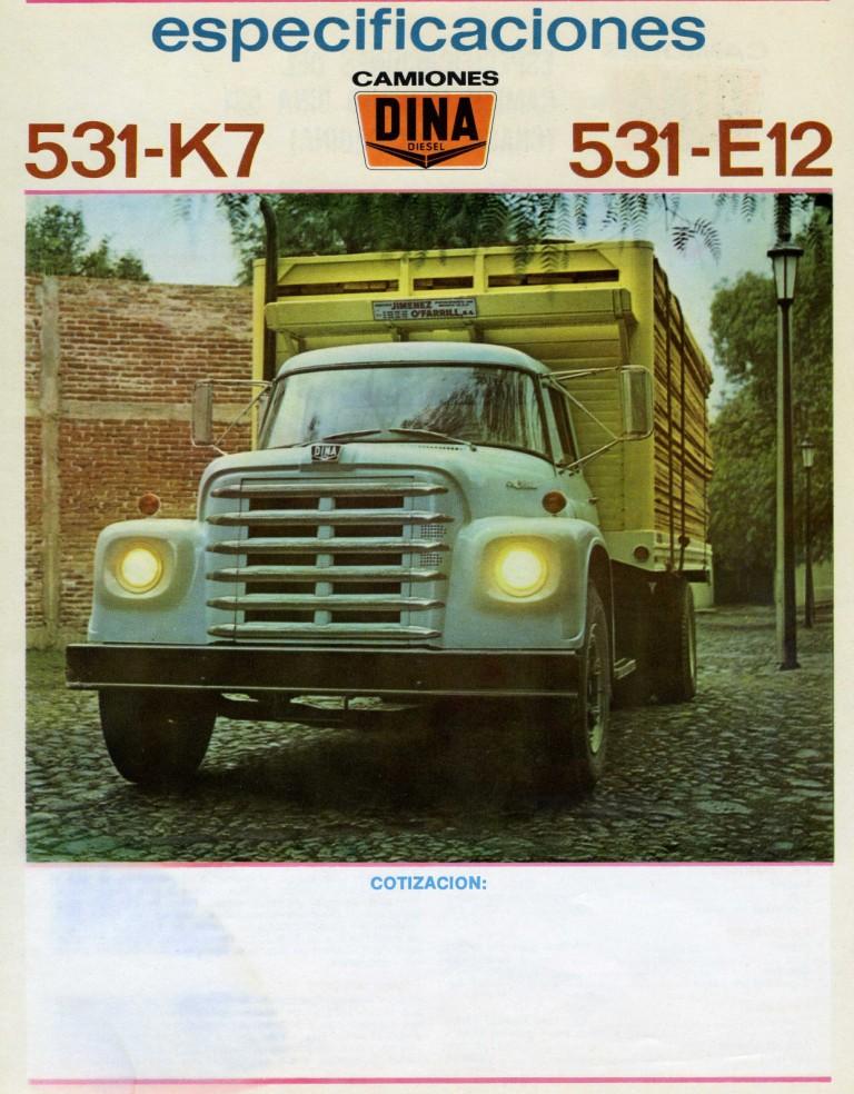 International Harvester Logo >> Dina 531 K7 | Dina Camiones Blog