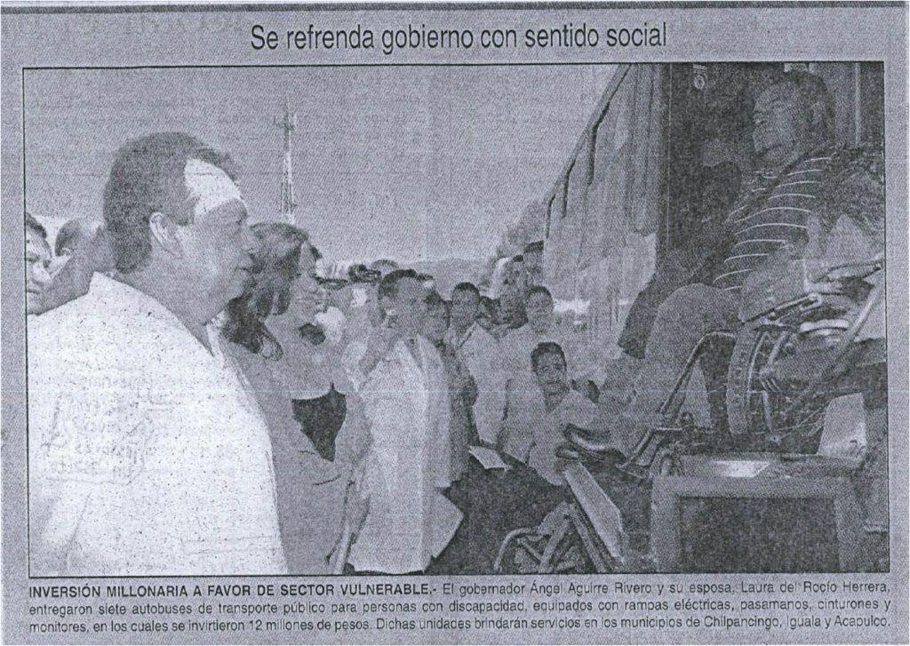 Peridodico Vertice  Diario de Chilpancingo Pag. 4 Sección Local 2 de Diciembre