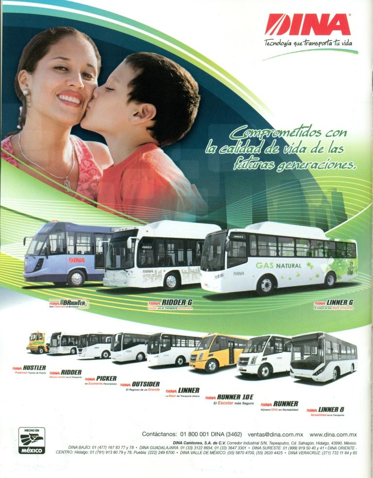 Contraportada Revista Waldos Transportes Agosto 2012