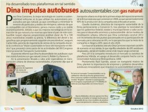 Revista Auto Motores Octubre 2012 Pag. 36