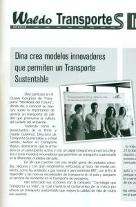 Revista Waldos Transporte Octubre 2012 Pag. 31