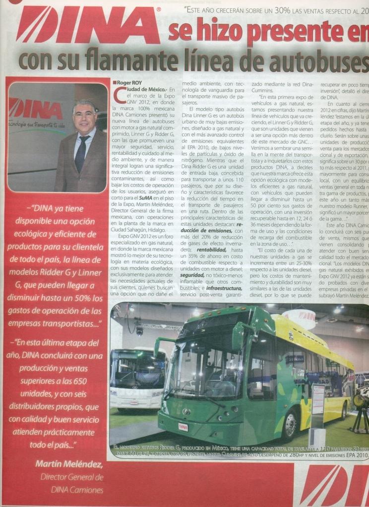 Suplemento Mexico Automotriz Diciembre 2012 Pag. 8