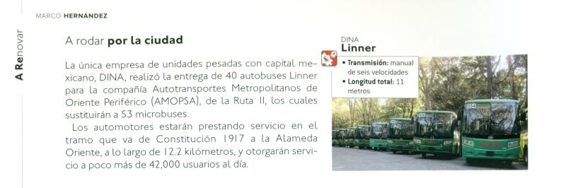 Revista Transporte y Turismo Enero  Pag. 2