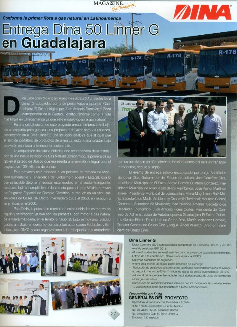 Revista Magazzine del Transporte Abril 2013 Pag. 27