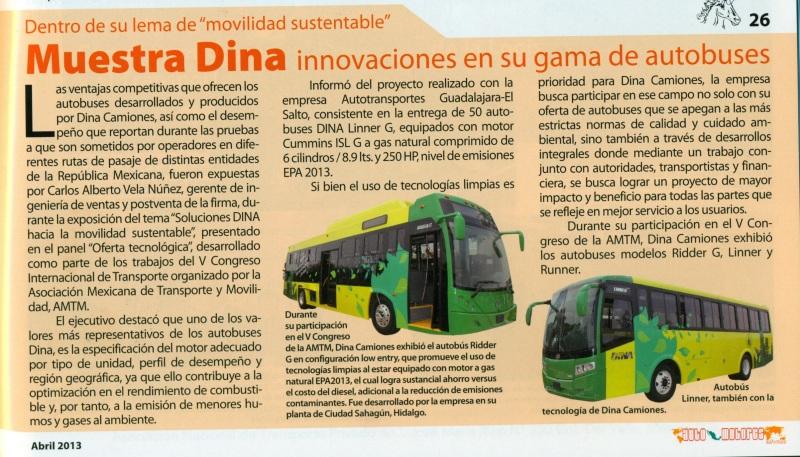 Revista Automotores Informa Abril 2013 Pag. 26