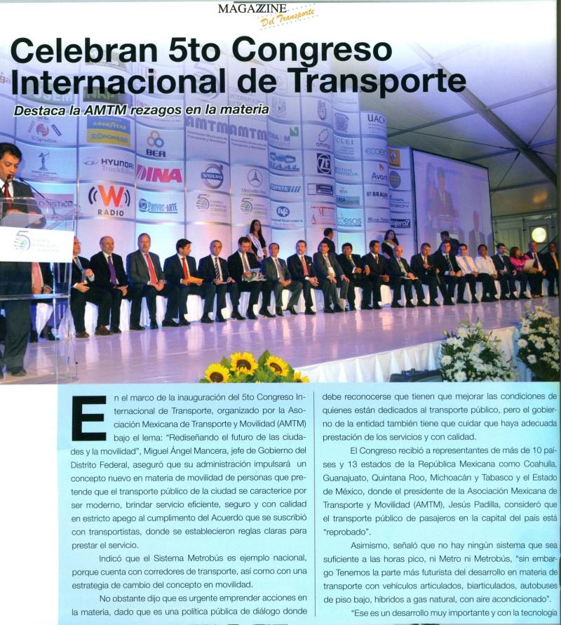 Revista Magazzine del Transporte Mayo 2013 Pag. 28