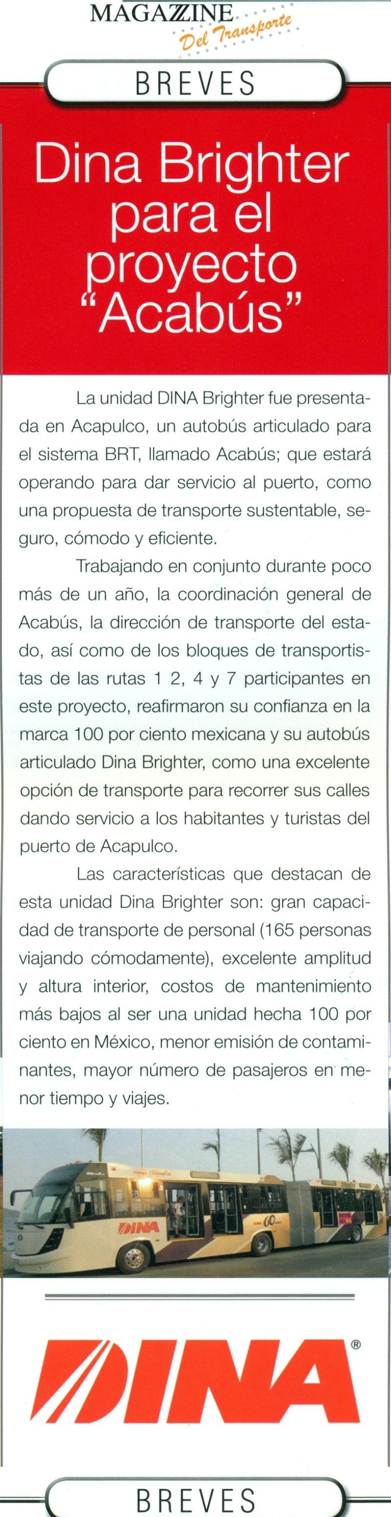 Revista Magazzine del Transporte Mayo 2013 Pag. 38