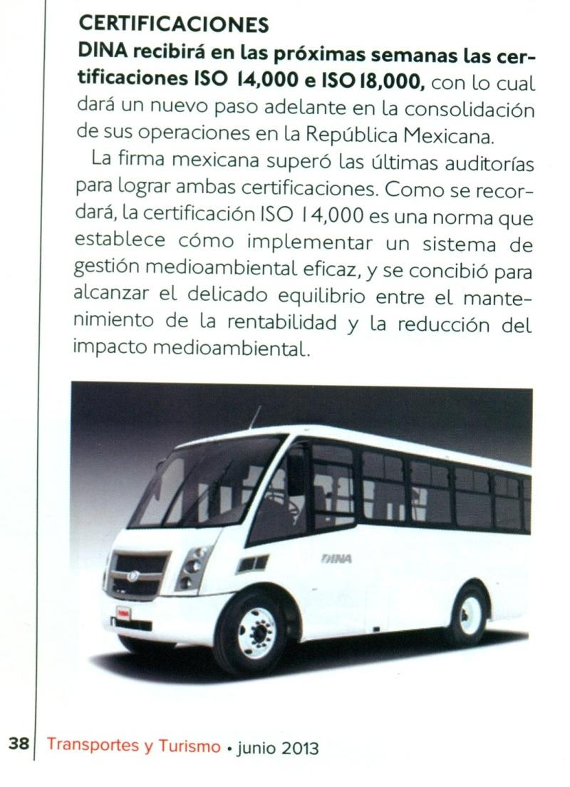 Revista Transportes y Turismo Junio 2013 Pag. 38