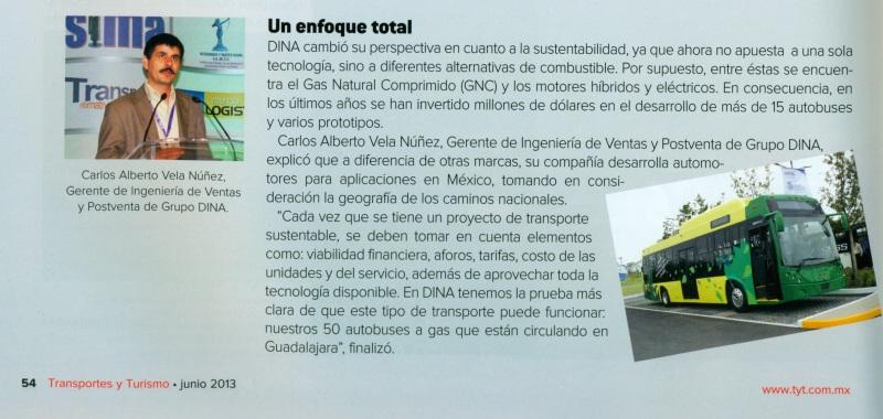 Revista Transportes y Turismo Junio 2013 Pag.54