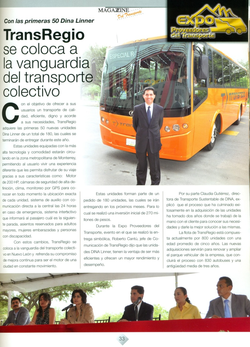 Revista Magazzine del Transporte Junio 2013 pag.33