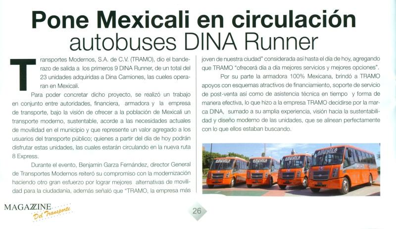Revista %22Magazzine del Transporte%22 Agosto 2013 Pag. Escanear 26