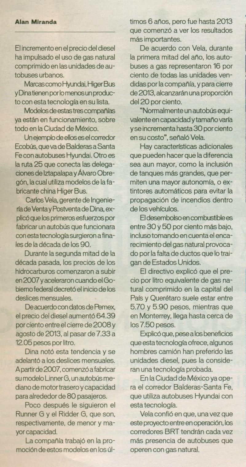 Suplemento Industrial Automotriz Periódico Reforma Agosto 2013 Pag. 6A