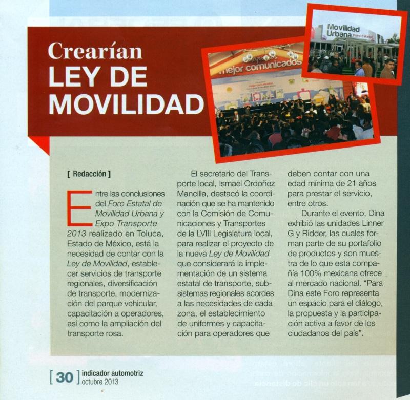 Revista %22Indicador Automotriz%22 Octubre 2013 Pag. 30