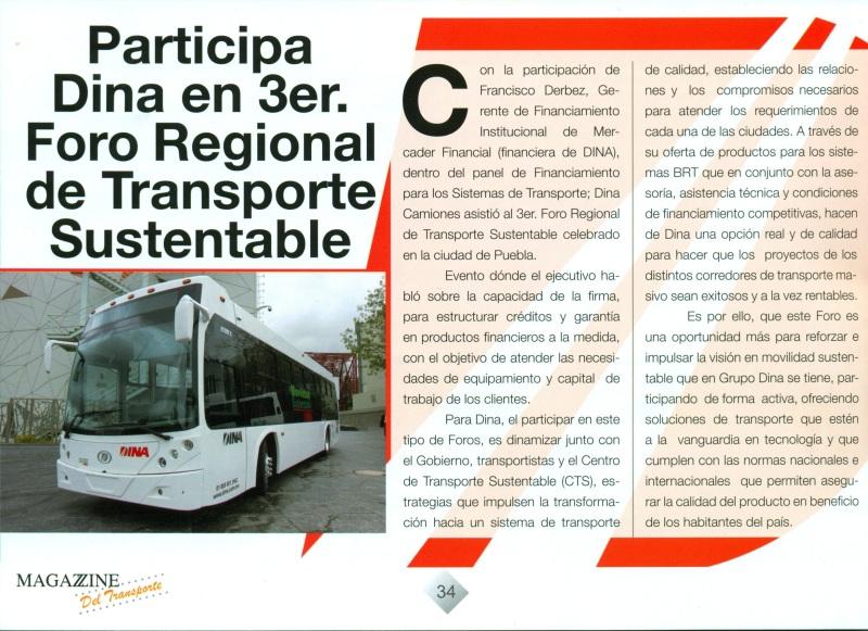 Revista %22Magazzine del Transporte%22 Septiembre 2013 Pag. 34