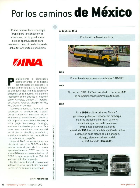 Revista %22Transportes y Turismo%22 Septiembre 2013 Pag.46
