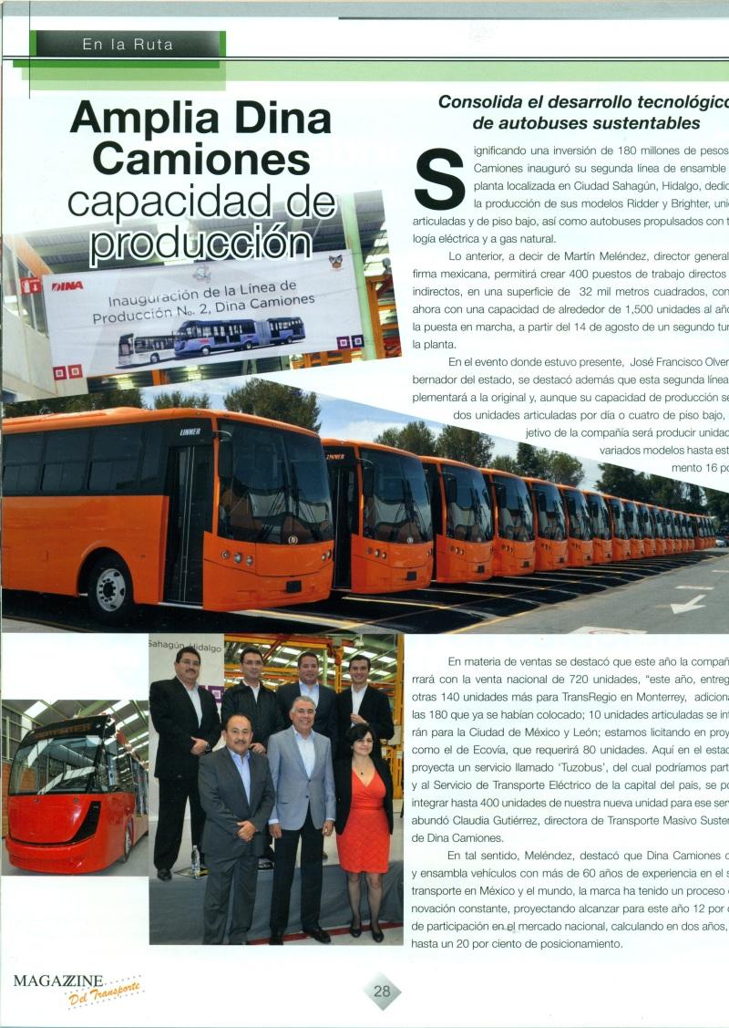 Revista Magazzine del Transporte Agosto 2013 Pag. 28