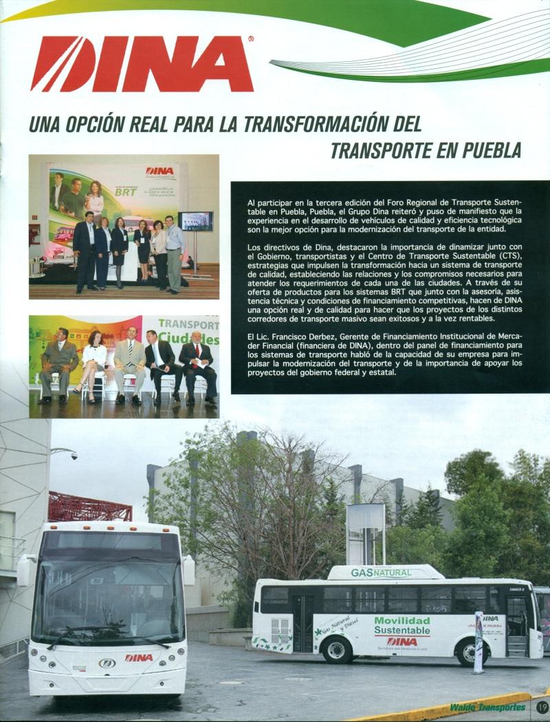 Revista Waldo Transporte Octubre 2013 Pag. 19