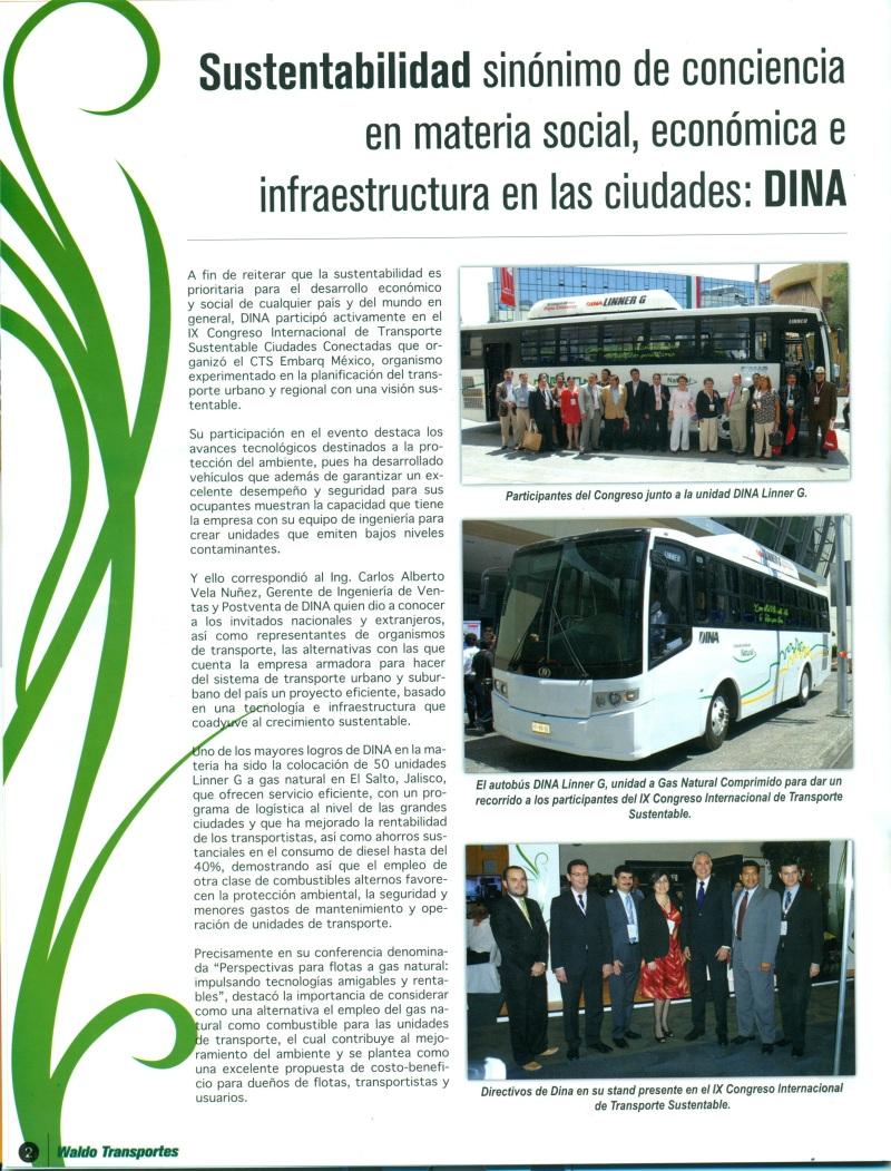 Revista Waldos Transporte Octubre 2013 Pag. 2