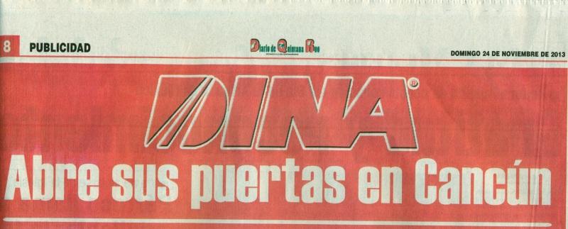 Periódico %22El Diario de Quintana Roo%22 Noviembre 2013 Pag. 8