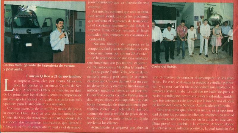 Periódico %22El Diario de Quintana Roo%22 Noviembre 2013 Pag. 8A