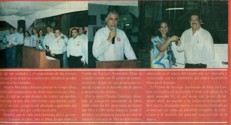 Periódico %22El Diario de Quintana Roo%22 Noviembre 2013 Pag. 8B