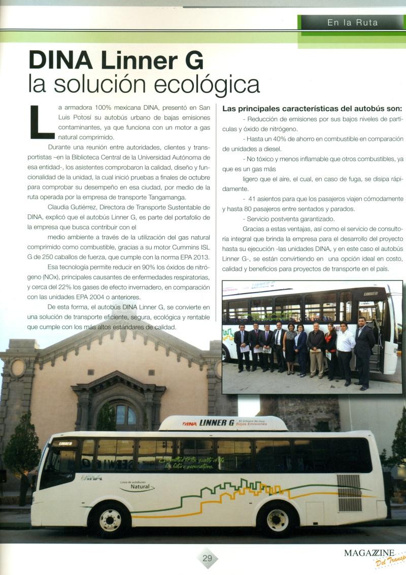 Revista %22Magazzine del Transporte%22 Noviembre 2013 Pag.29
