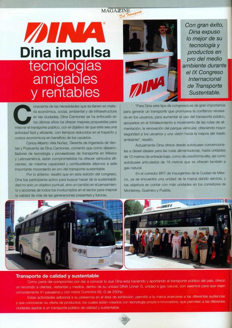 Revista %22Magazzine del Transporte%22 Octubre 2013 Pag. 38
