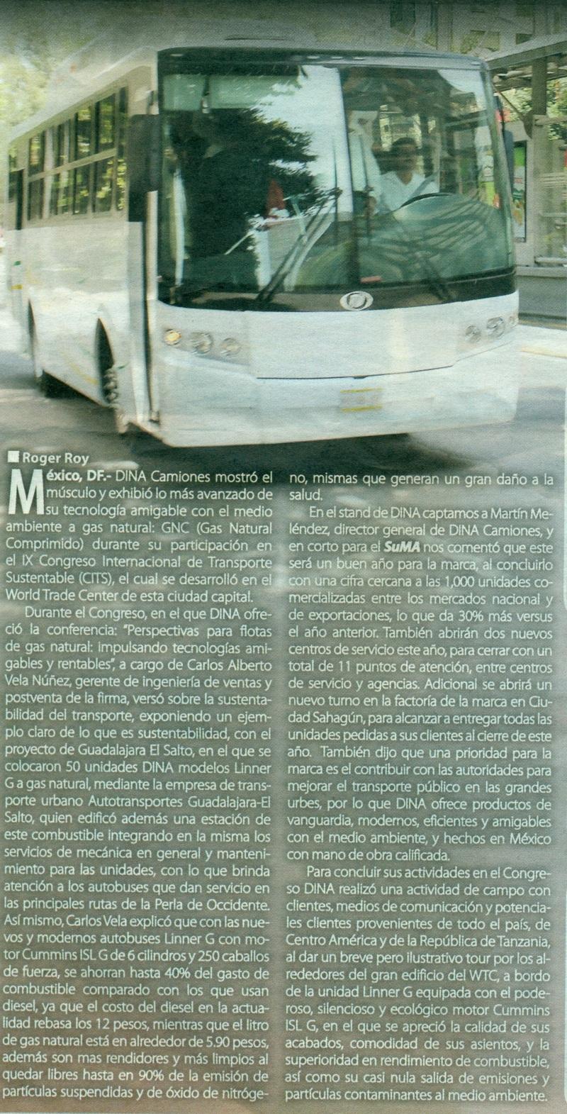Suplemento %22Mexico Automotriz%22 Noviembre 2013 Pag. 12B