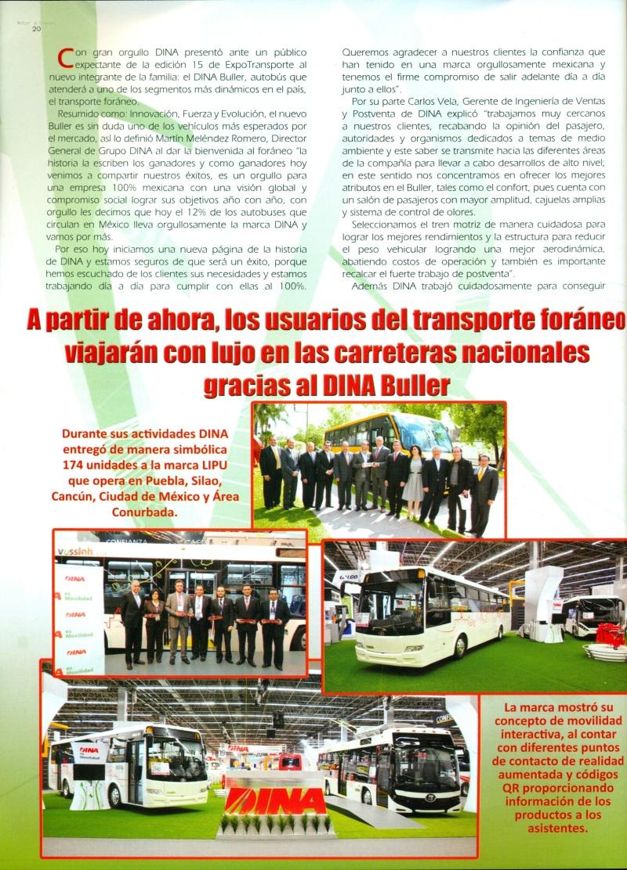 Revista %22Motor a Diesel%22 Noviembre 2013 Pag. 20