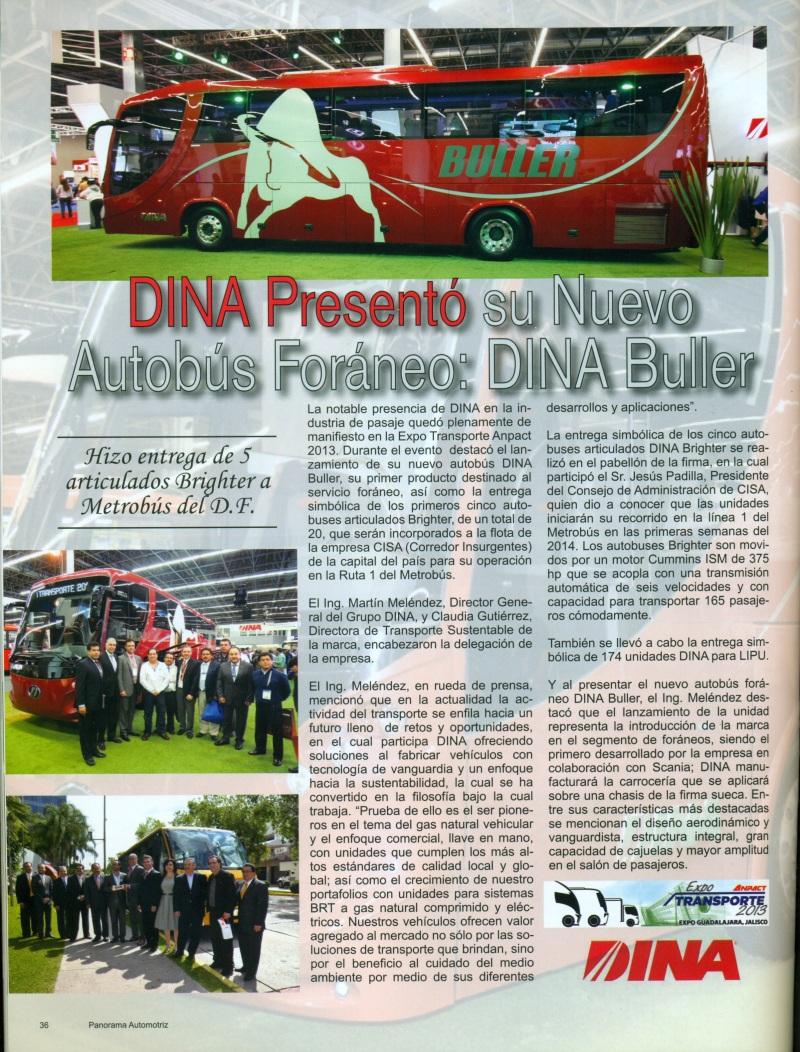 Revista %22Panorama Automotriz%22 Enero 2014 Pag. 36