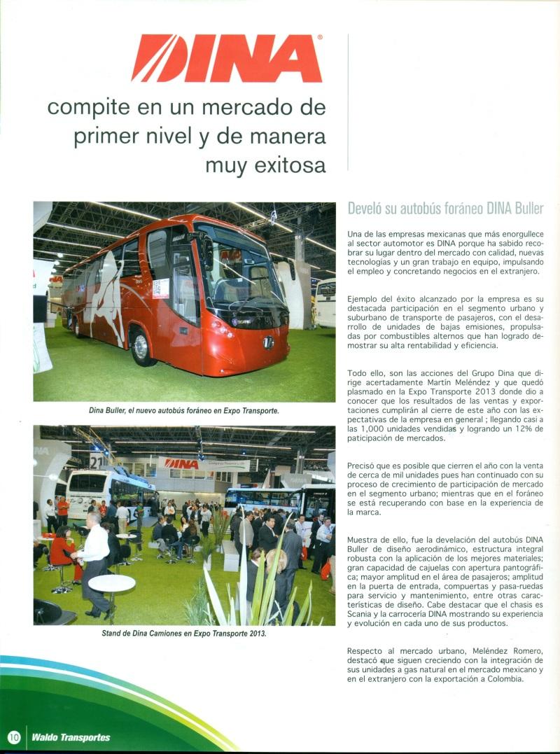 Revista %22Waldo Transportes%22 Enero 2014 Pag. 10