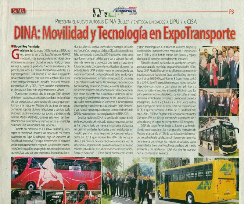 Suplemento %22México Automotriz%22 Diciembre 2013 Pag. 3