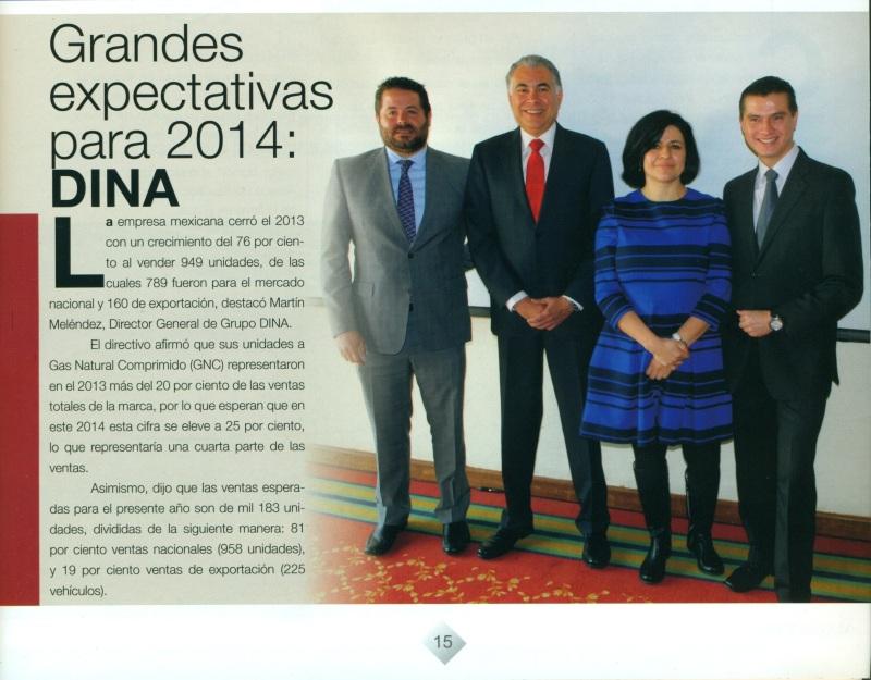 Revista %22Magazzine del Transporte%22 Enero 2014 Pag. 15