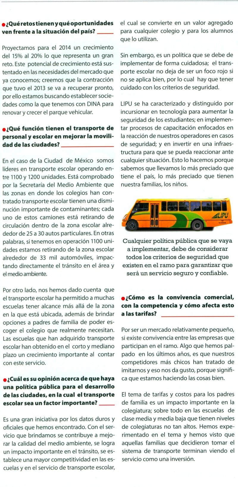 Revista %22Pasajero 7%22 Febrero 2014 Pag. 11