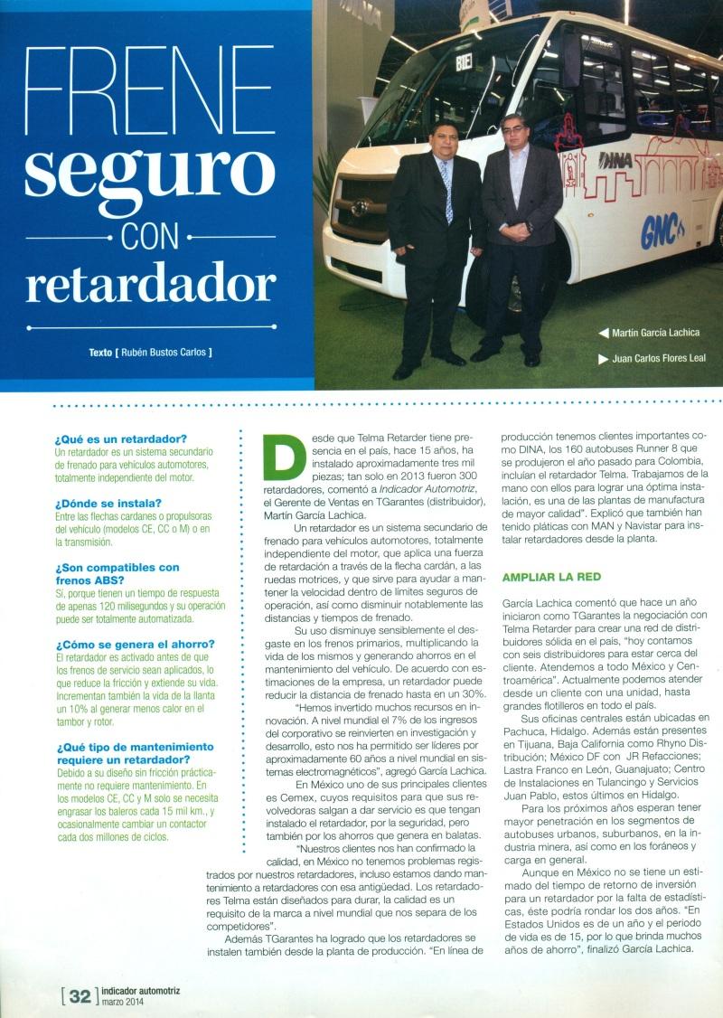 Revista %22Indicador Automotriz%22 Marzo 2014 Pag.32