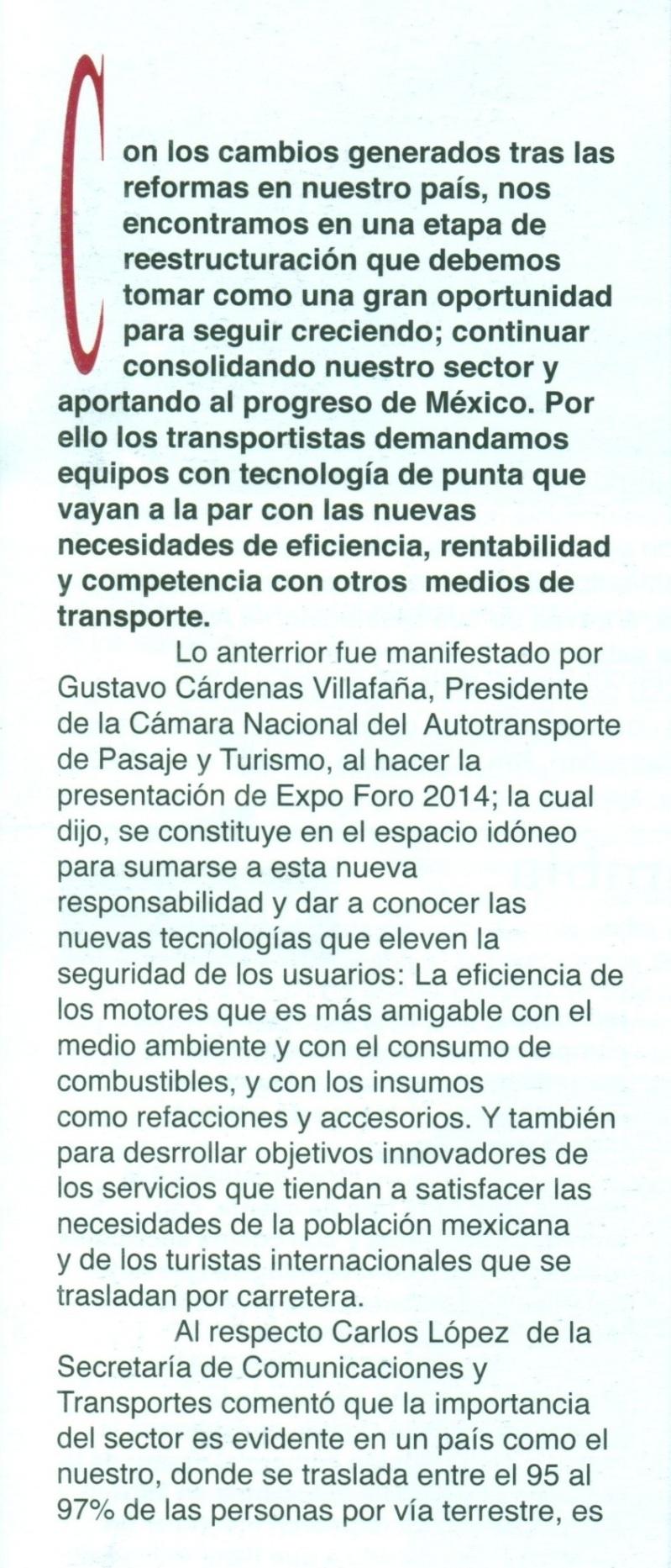 Revista %22Mundo Empresarial%22 Marzo 2014 Pag. 38A