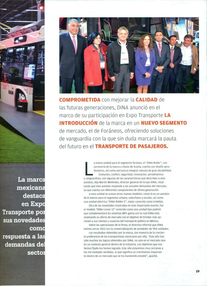 Revista %22Nación Transporte%22 Enero 2014 Pag. 19