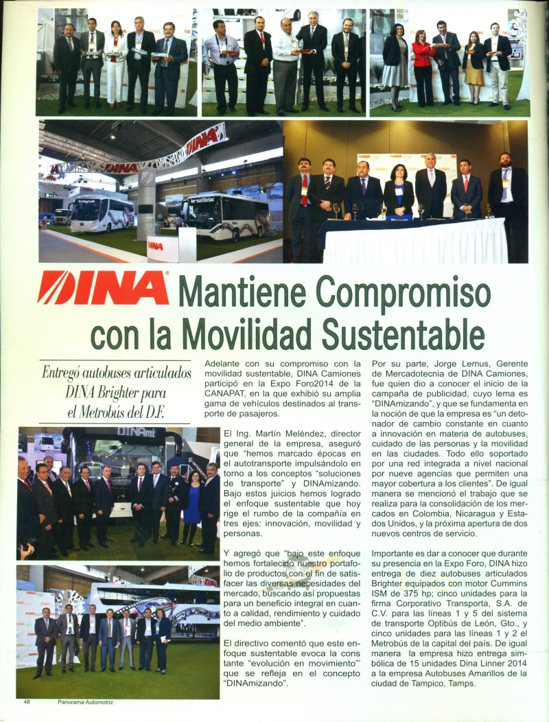 Revista %22Panorama Automotriz%22 Abril 2014 Pag. 48