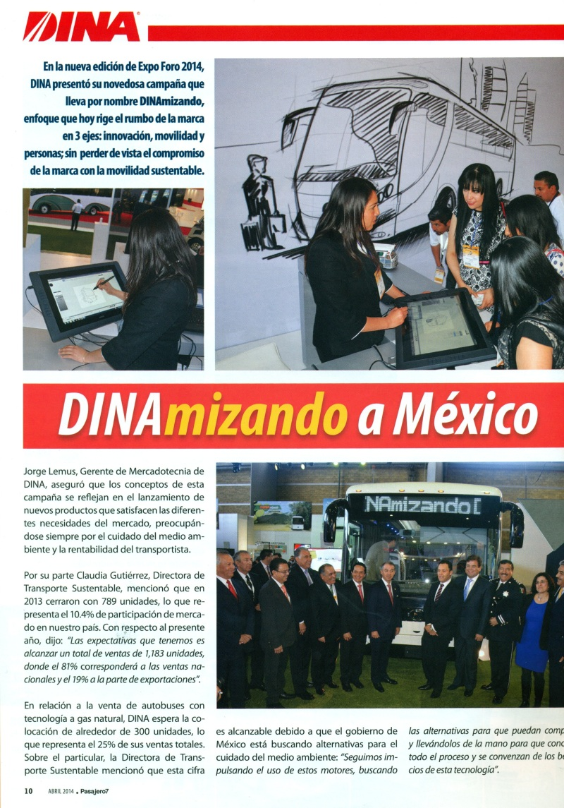 Revista %22Pasajero 7%22 Abril 2014 Pag. 10