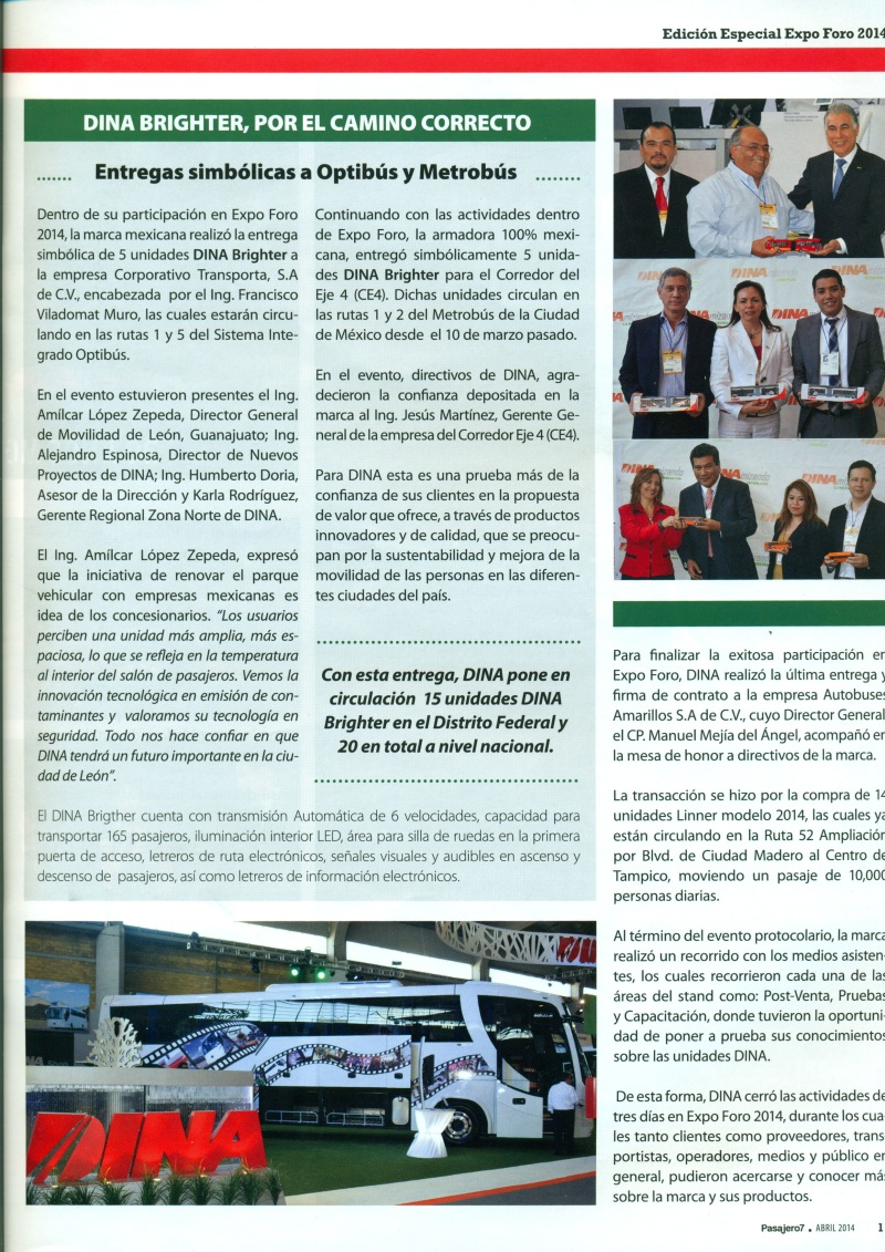 Revista %22Pasajero 7%22 Abril 2014 Pag. 11