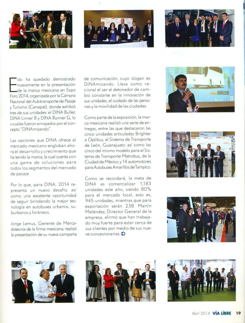 Revista %22Vía Libre%22 Abril 2014 Pag. 19