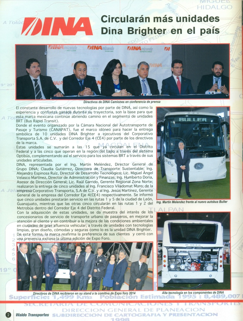 Revista %22Waldo Transportes%22 Abril 2014 Pag. 2