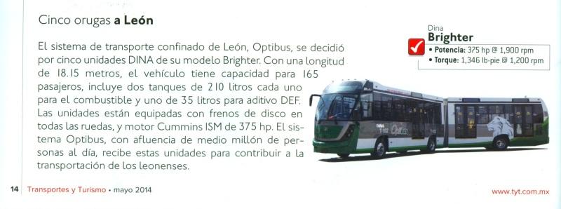 Revista %22Transportes y Turismo%22 Mayo 2014 Pag.14