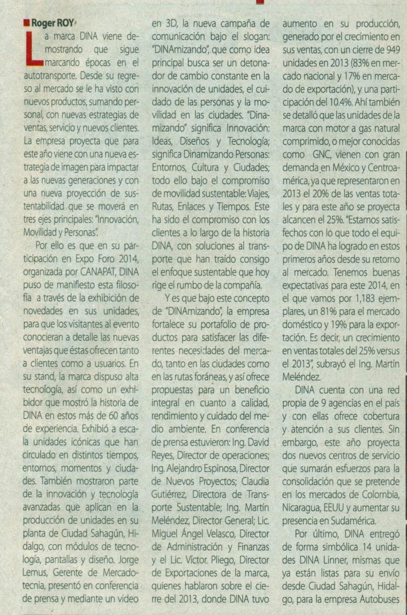 Suplemento %22México Automotriz%22 Abril 2014 Pag. 5