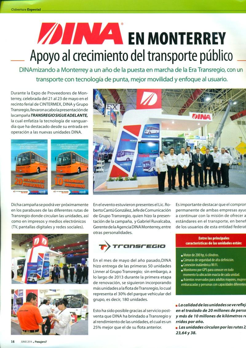Revista %22Pasajero 7%22 Junio 2014 Pag. 16