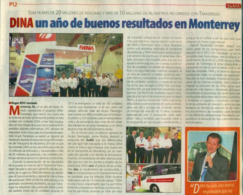 Suplemento %22México Automotriz%22 Mayo 2014 Pag. 12